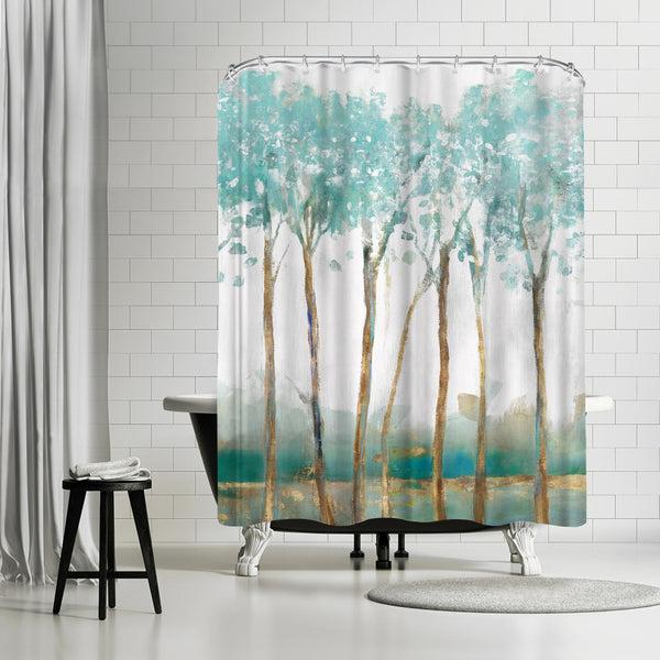 Movement by PI Creative Art Shower Curtain