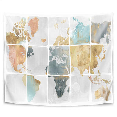 Tiled Map by PI Creative Art Tapestry - Wall Tapestry - Americanflat