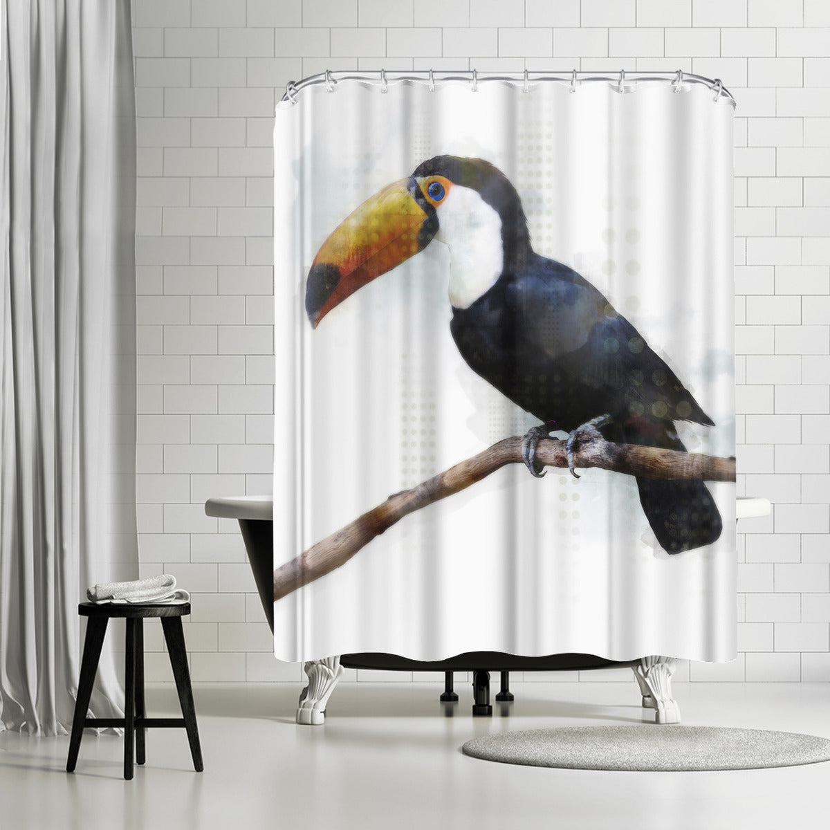 Toucantoco by PI Creative Art Shower Curtain -  - Americanflat