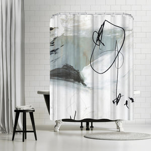 Tied I by PI Creative Art Shower Curtain