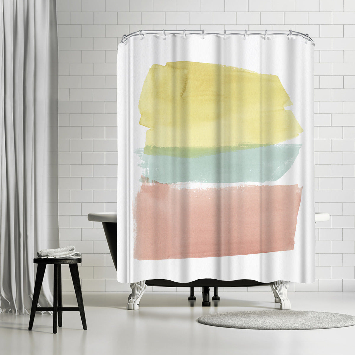 Delectable I by PI Creative Art Shower Curtain - Shower Curtain - Americanflat