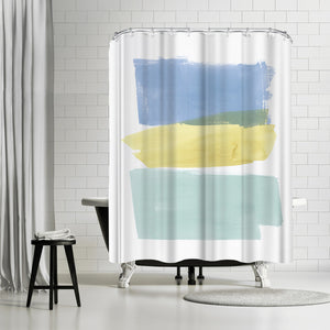 Delectable Ii by PI Creative Art Shower Curtain