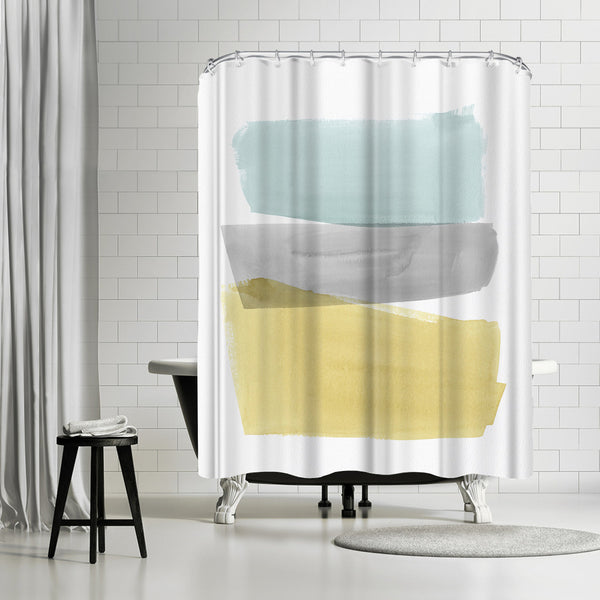 Delectable Iii by PI Creative Art Shower Curtain