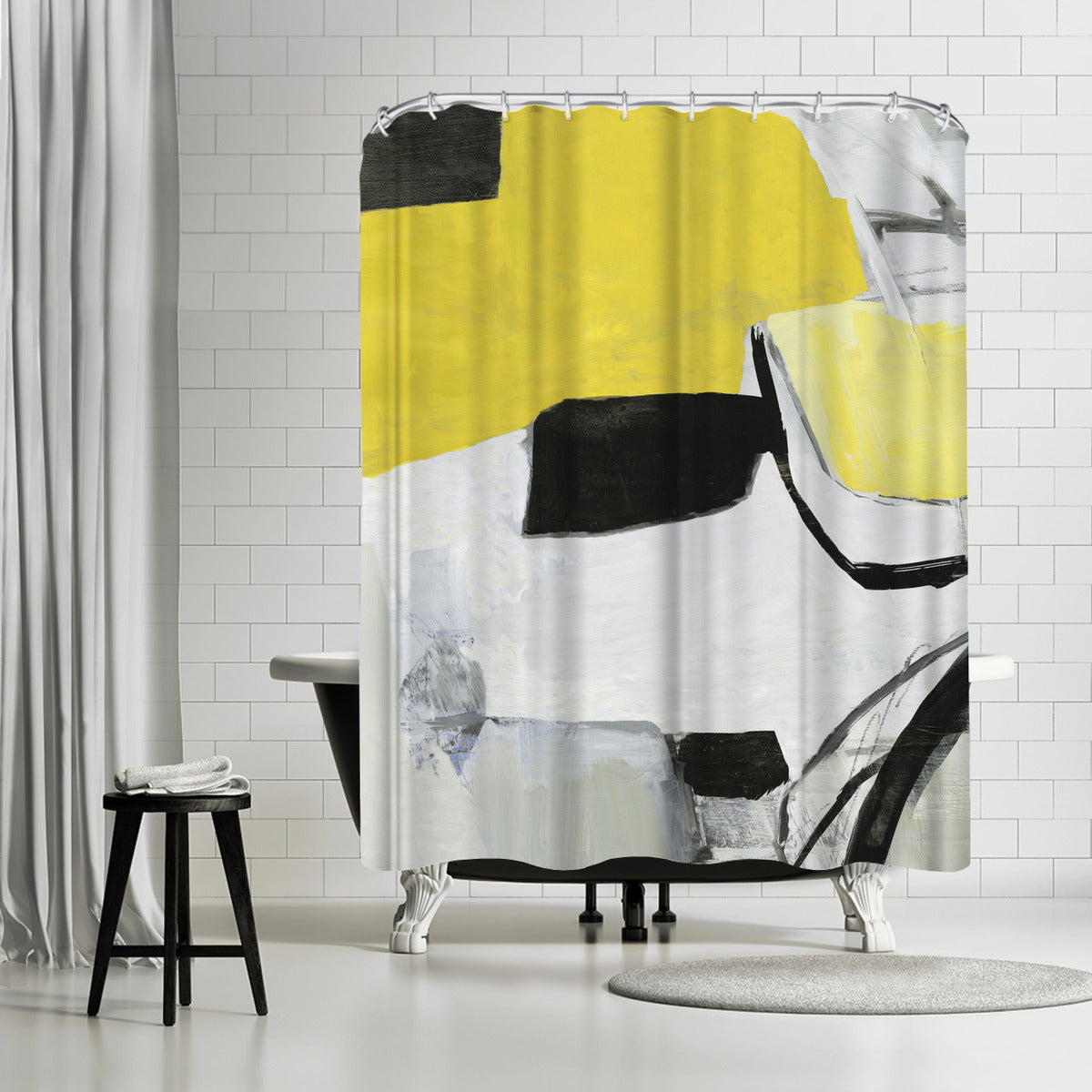 Valiant I by PI Creative Art Shower Curtain -  - Americanflat