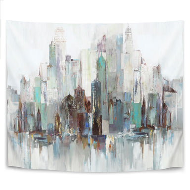 City Escape Ii by PI Creative Art Tapestry - Wall Tapestry - Americanflat