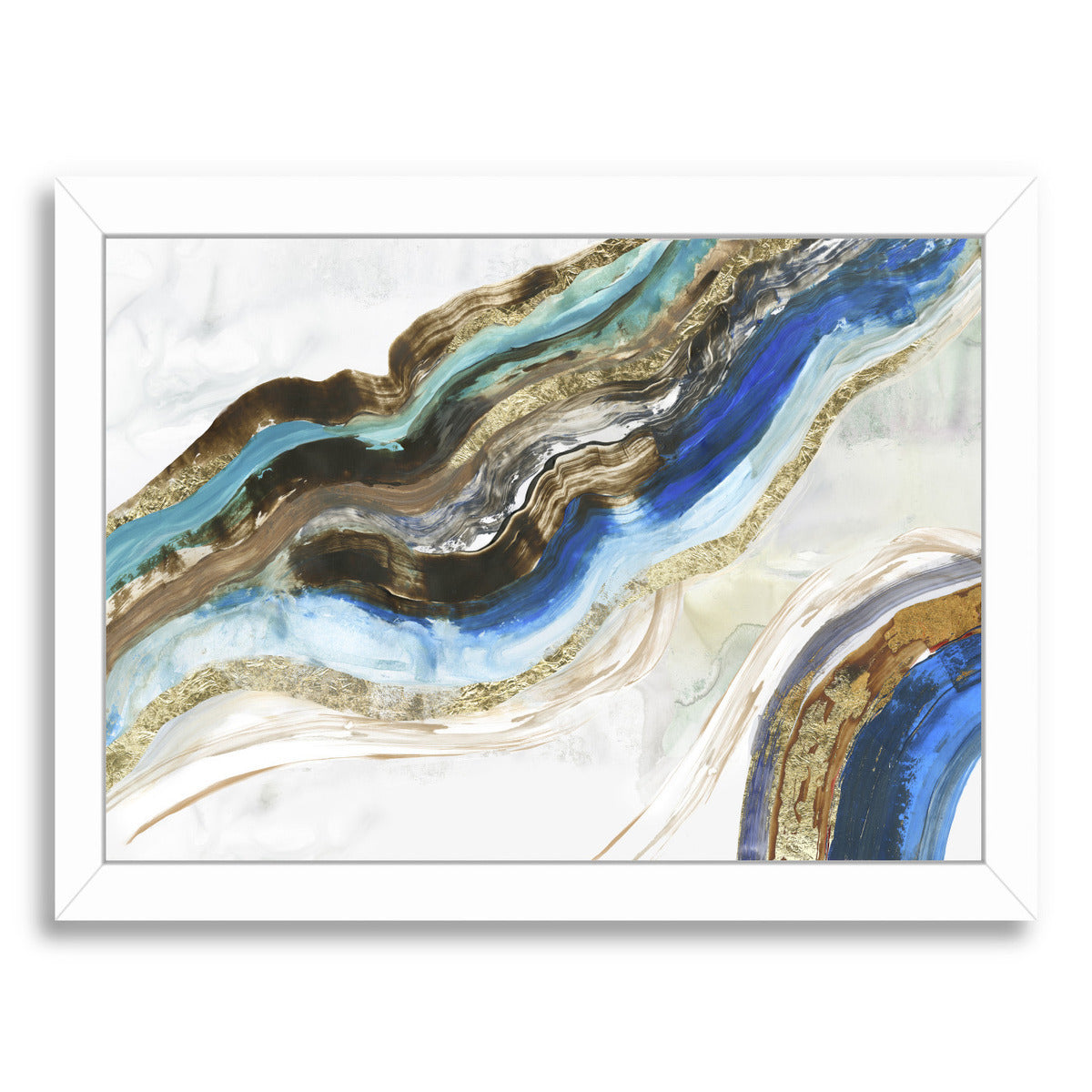 Crystalized Iii by PI Creative Art Framed Print - Wall Art - Americanflat