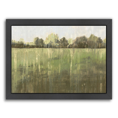 Green Field Iii by PI Creative Art Framed Print - Wall Art - Americanflat