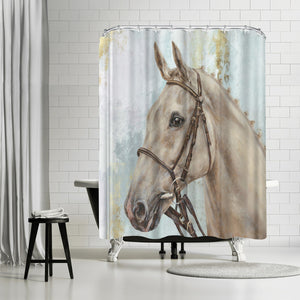 Show Horse by PI Creative Art Shower Curtain