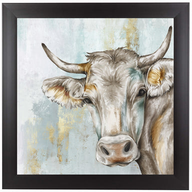 Headstrong Cow by PI Creative Art Framed Print - Wall Art - Americanflat