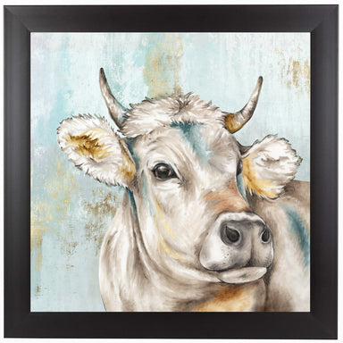 Headstrong Cow I by PI Creative Art Framed Print - Wall Art - Americanflat