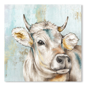 Headstrong Cow I by PI Creative Art  Print