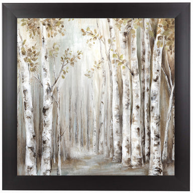 Sunset Birch Forest Iii by PI Creative Art Framed Print - Wall Art - Americanflat