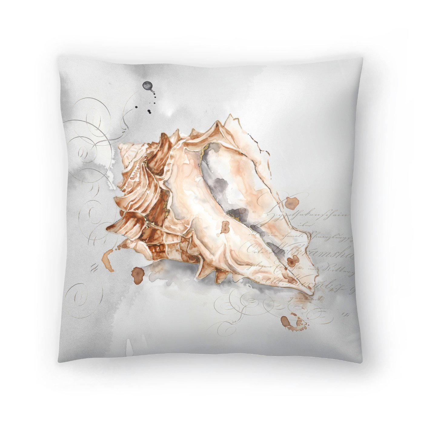 Blush Shell Iii by PI Creative Art Decorative Pillow - Decorative Pillow - Americanflat