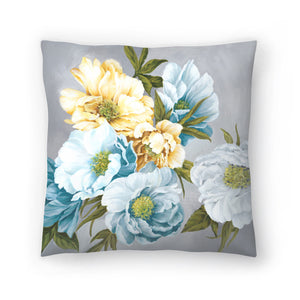 Chic Peony Iii by PI Creative Art Decorative Pillow