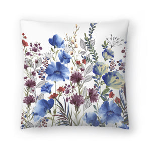 Willowherb Ii by PI Creative Art Decorative Pillow