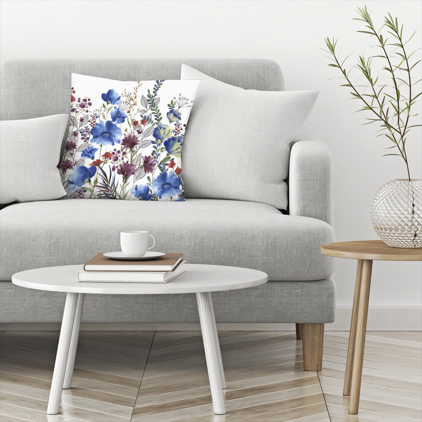 Willowherb Ii by PI Creative Art Decorative Pillow - Decorative Pillow - Americanflat