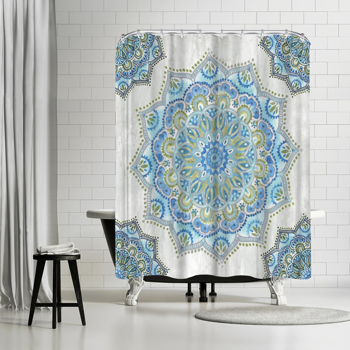 Array Ii by PI Creative Art Shower Curtain - Shower Curtain - Americanflat