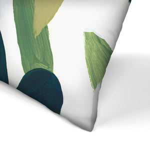 Into The Forest I by PI Creative Art Decorative Pillow