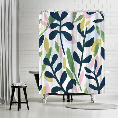 Into The Forest Ii by PI Creative Art Shower Curtain -  - Americanflat