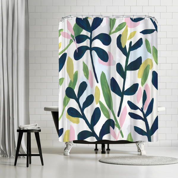 Into The Forest Ii by PI Creative Art Shower Curtain