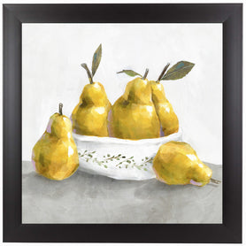 Pears by PI Creative Art Framed Print