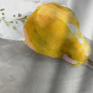 Pears by PI Creative Art Shower Curtain