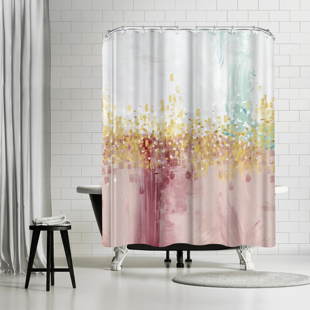 Mustn't Hurry I by PI Creative Art Shower Curtain -  - Americanflat