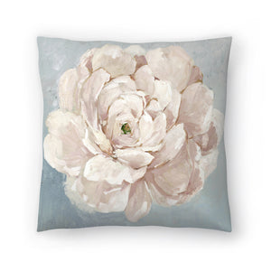 Pink Flower by PI Creative Art Decorative Pillow