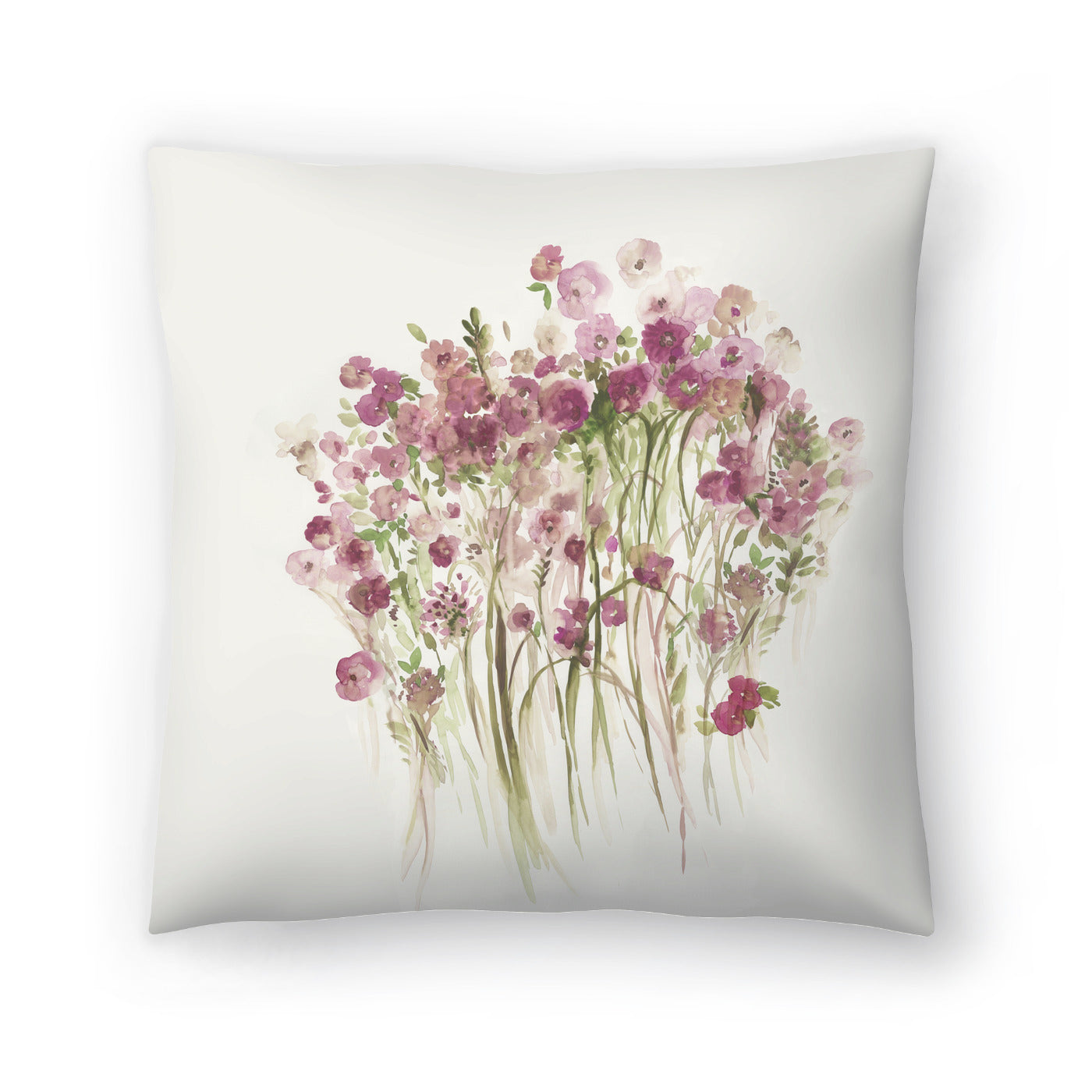 Pink Spring Garden by PI Creative Art Decorative Pillow - Decorative Pillow - Americanflat