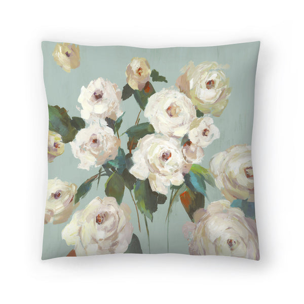 La Rosa by PI Creative Art Decorative Pillow