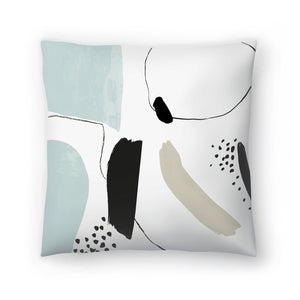 Integral I by PI Creative Art Decorative Pillow