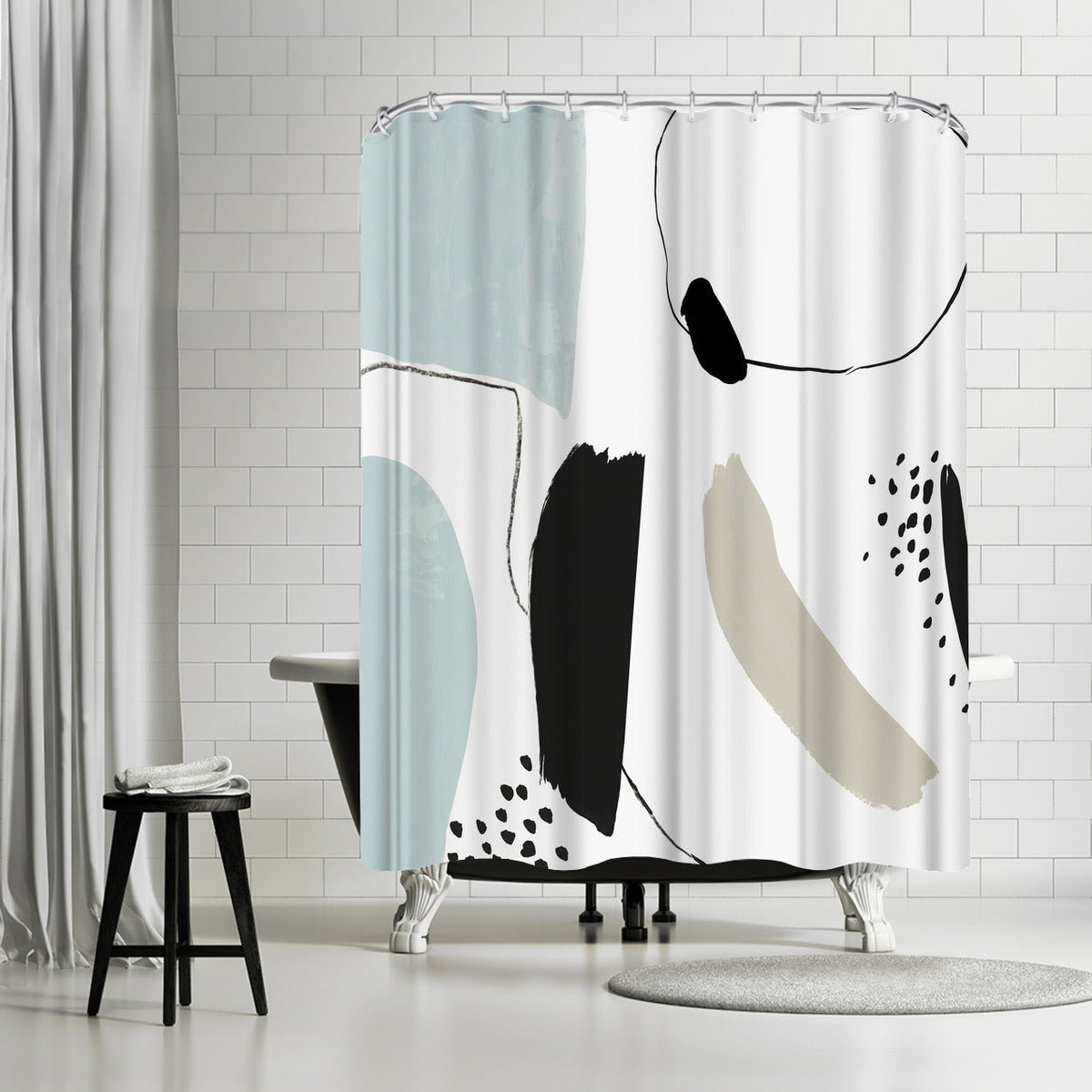 Integral I by PI Creative Art Shower Curtain - Shower Curtain - Americanflat