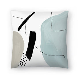 Integral Ii by PI Creative Art Decorative Pillow