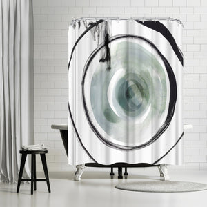 Perforation I by PI Creative Art Shower Curtain
