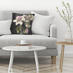 Paper Cut Floral by PI Creative Art Decorative Pillow