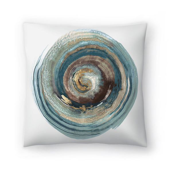 Into The Dark Ii by PI Creative Art Decorative Pillow