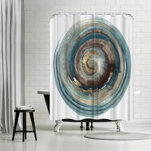Into The Dark Ii by PI Creative Art Shower Curtain
