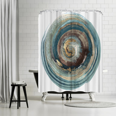Into The Dark Ii by PI Creative Art Shower Curtain -  - Americanflat