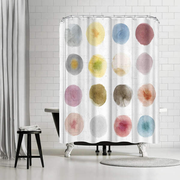 Darling I by PI Creative Art Shower Curtain