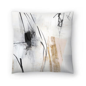 Fortnight I by PI Creative Art Decorative Pillow