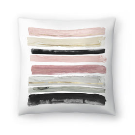 Rothko's Stripes I by PI Creative Art Decorative Pillow