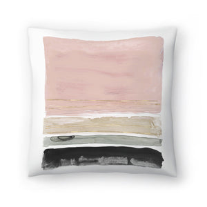 Rothko's Stripes Ii by PI Creative Art Decorative Pillow