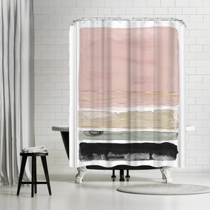Rothko's Stripes Ii by PI Creative Art Shower Curtain