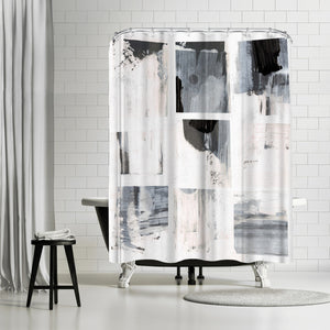 Emulate I by PI Creative Art Shower Curtain