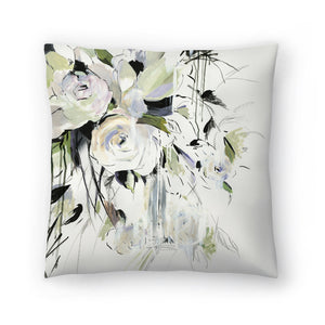 Simple Bouquet Ii by PI Creative Art Decorative Pillow