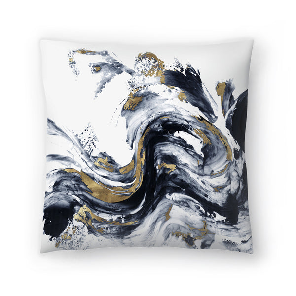 Faded Memories I by PI Creative Art Decorative Pillow