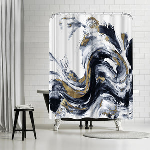 Faded Memories I by PI Creative Art Shower Curtain