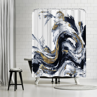 Faded Memories I by PI Creative Art Shower Curtain -  - Americanflat