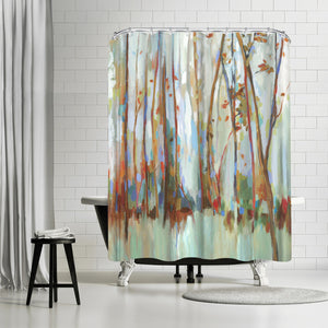 Soul Mates by PI Creative Art Shower Curtain