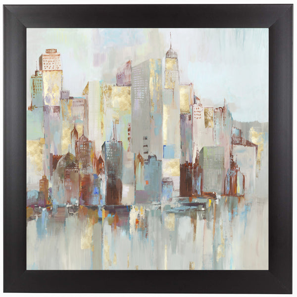 City Escape I by PI Creative Art Framed Print